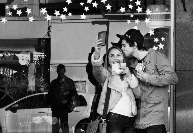 stars, selfie, love, street, candid, cape town