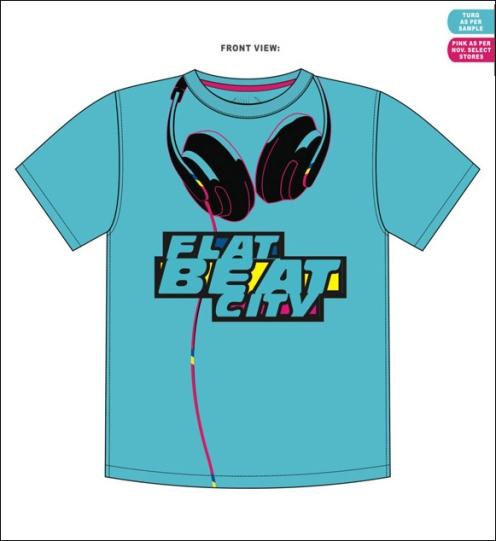 Flat Beat City Boys T