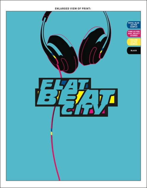 Flat Beat Graphic