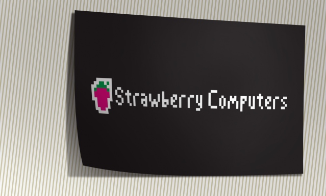 Strawberry Card a