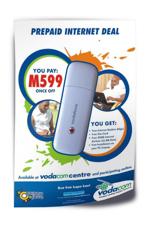 Vodafone Flyer A5