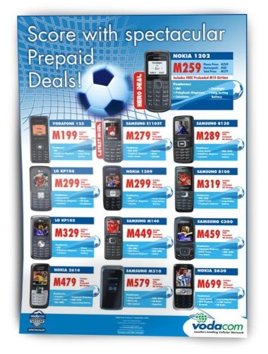 Vodacom Retail Flyer